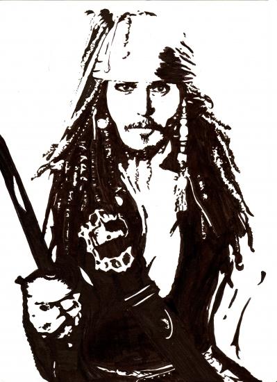Johnny Depp by HelenaFan
